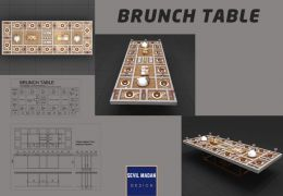 Cafe&Restaurant Bruch Table