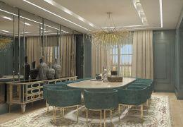 Libya Villa Yemek Odası 1